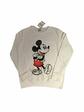 PRIMARK OFFICIAL LADIES WOMENS DISNEY MICKEY MOUSE CARTOON JUMPER SWEAT BNWT 8