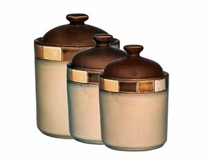 Canisters Sets For The Kitchen Coffee Tea Sugar Ceramic