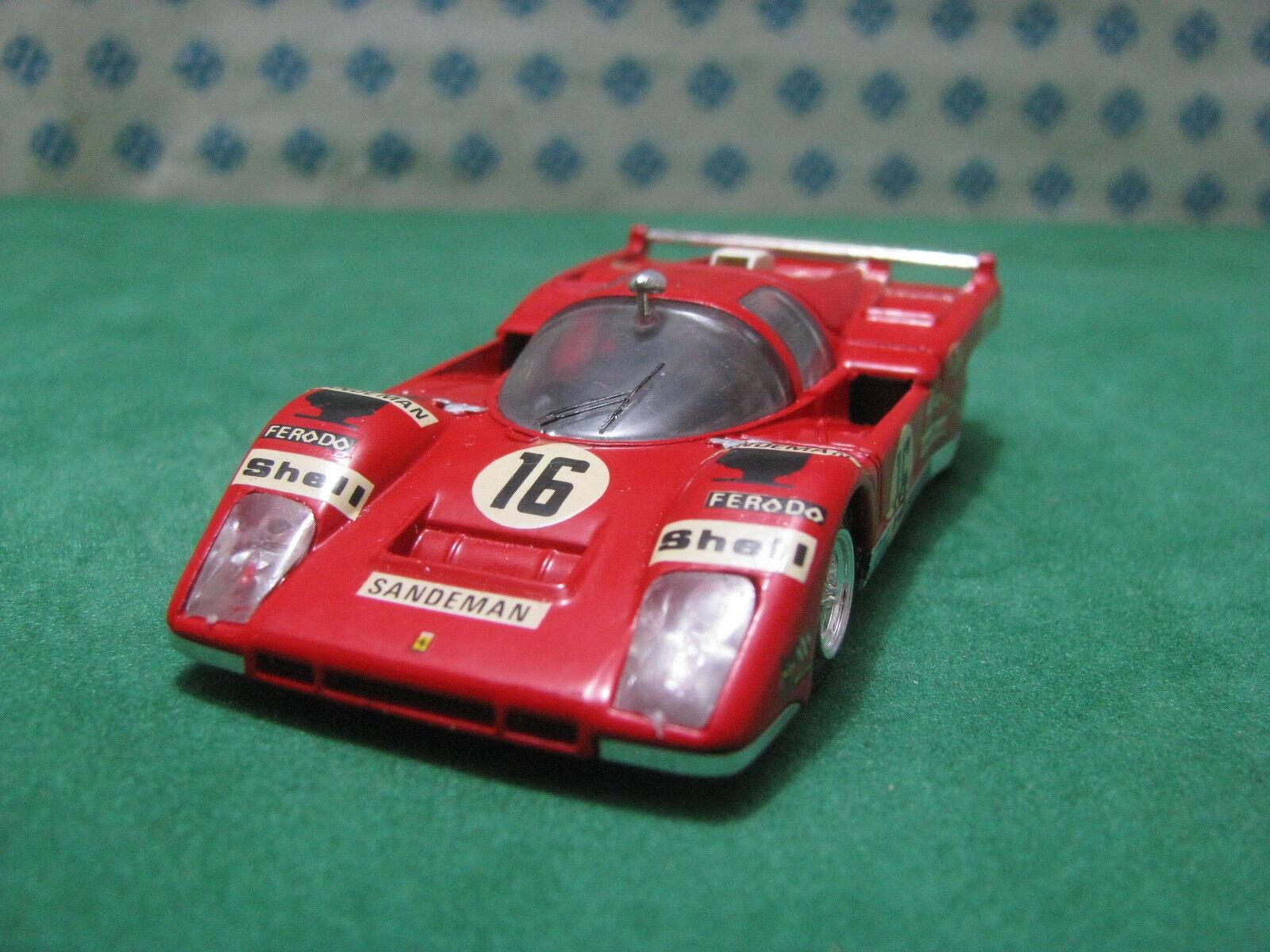 Vintage  -  FERRARI FERRARI FERRARI 512 Le Mans    -  1 43 Solido Ref. 197 f31a4f