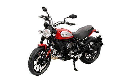 TSM Model ducati scrampler Icon 803cc 2015 Rosso ducati rojo red 1:12 Art c0004
