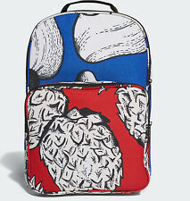 b5efbeffe3f3 Adidas originals Classic FARM Backpack Bag school gym men womens new blue  red