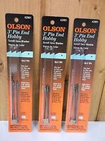 (18) 3 Pin End Hobby Scroll Saw Blades Free Shipping