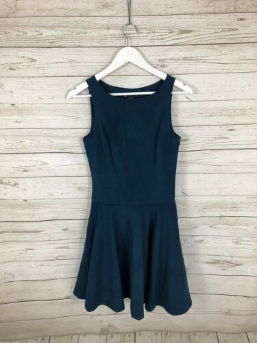 Size Women's Dress Suede Condition Uk6 Armani Green Great Faux HtwqqUnZ
