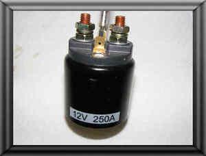 12 Volt DC Motor Starter   Schütz