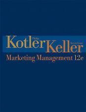 Marketing Management (12th Edition) by Kotler, Philip, Keller, Kevin Lane