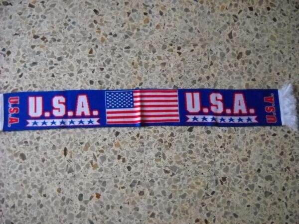 Avere Una Mente Inquisitrice D1 Sciarpa Stati Uniti Football Federation Association Scarf United States Usa