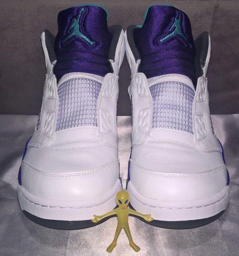 Nike Air Jordan V (5) Retro NRG Grape Fresh Prince (2018) Men's Size 9.5 BNIB