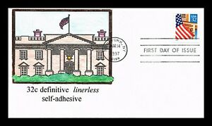DR-JIM-STAMPS-US-FLAG-OVER-PORCH-HAND-COLORED-FIRST-DAY-OF-ISSUE-COVER