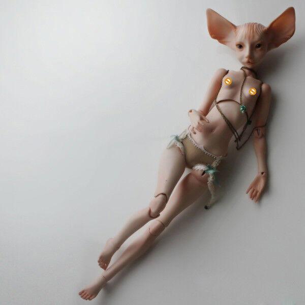 GATO BJD bambola 1 4bambola Cat Cat Cat head Joint bambola gratuito Eyes bambolaFIE ANIME uomoGA 8f95a9
