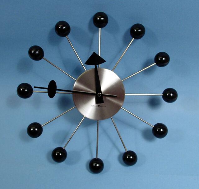 New George Nelson Sunburst Wall Clock Reproduction Blue Japan F//S