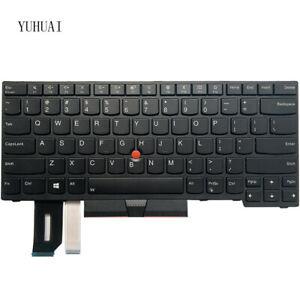 New For Lenovo IBM Thinkpad T480S T490 T495 L380 L390 laptop US keyboard