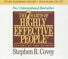 The 7 Habits of Highly Effective People by Stephen R. Covey (2011, CD, Unabridged)