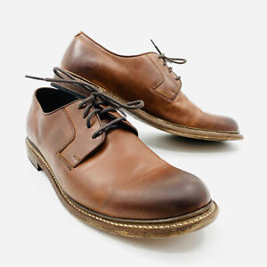 445121493d3 Details about Wolverine 1000 Mile Brown Leather Oxford Shoes Mens Size 11.5