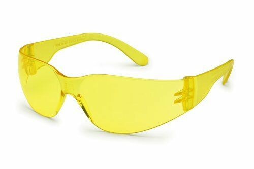 Gateway Safety 4675 Amber Safety Glasses Shooters $1.50 Pair Box of 10 Pair