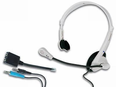 Head-Set TP30 für PC und Telefon inkl. Adapter