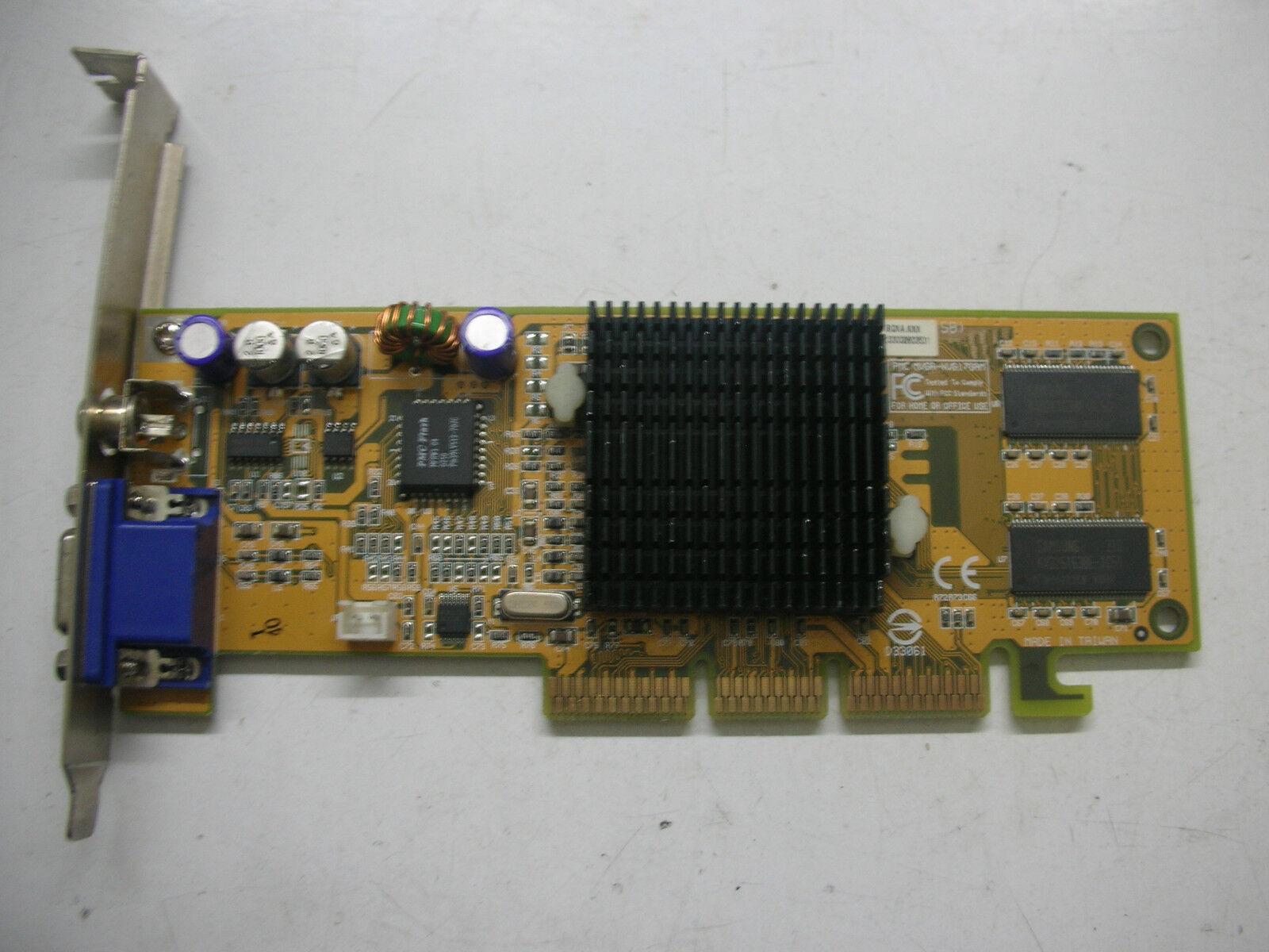 Prolink Geforce 4 MX420 VGA TV Out MVGA-nvg17gam 64mb AGP
