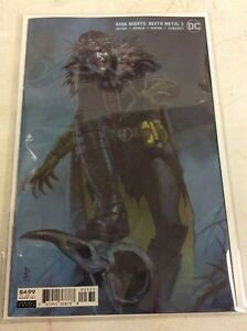 DARK NIGHTS DEATH METAL #3 FEDERICI VARIANT COVER ROBIN KING