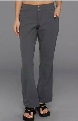Pantaloni Softshell per Khaki nwt Ins grigio 32 Pantaloni donna da 4 montagna taglia Petrina wYRqRIU