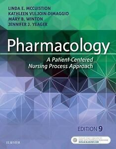 Pharmacology a patient centered nursing process approach by stock photo fandeluxe Image collections