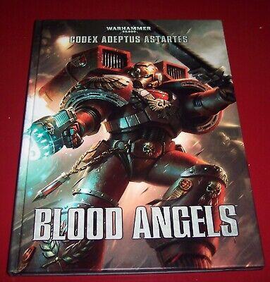 Acquista A Buon Mercato Warhammer 40,000 Codex Adeptus Marine Blood Angels (tedesco) Per Garantire Una Trasmissione Uniforme