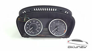 BMW-Serie-5-E60-E61-Tacho-Tacometro-Panel-Instrumentos-UK-VERSION-6937619