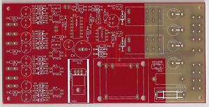 Loudspeaker DC protection /power soft start board PCB by Andrea Ciuffoli !