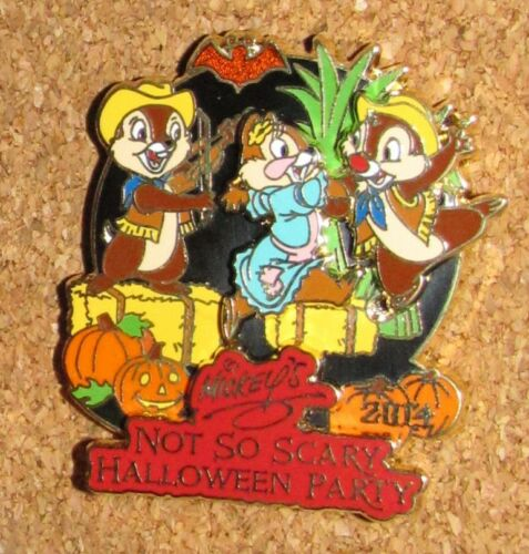 A9 Disney Pin Not So Scary Halloween CHIP & DALE & CLARICE LE LAST ONE