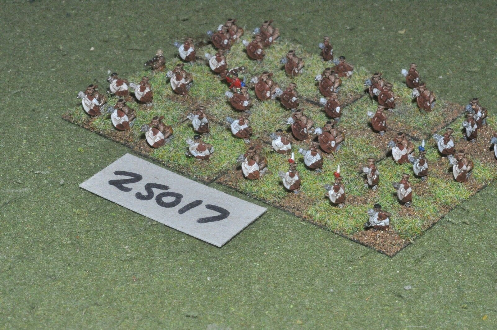 10mm colonial   zulu - warriors 48 figures - inf (25017)