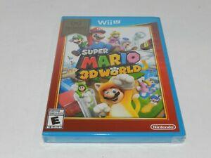 Super Mario World 3D Nintendo Wii U Original Game Brand New Factory Sealed 3-D