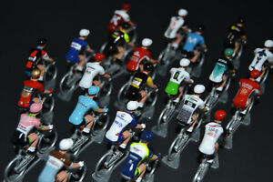Peloton-Tour-de-France-2018-22-equipes-Figurine-cycliste-Miniatures