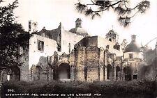 EXCONVENTO del DESIERTO de LOS LEONES MEXICO REAL PHOTO POSTCARD 1940s