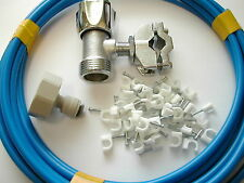 American Fridge Freezer Plumbing Kit Including Valve, Pipe Connector And 3M Pipe