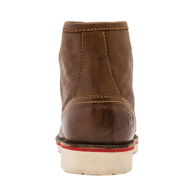 Jesse James Sturdy Leder Work Tan Stiefel In Cognac Tan Work FREE UK DELIVERY 7ae886
