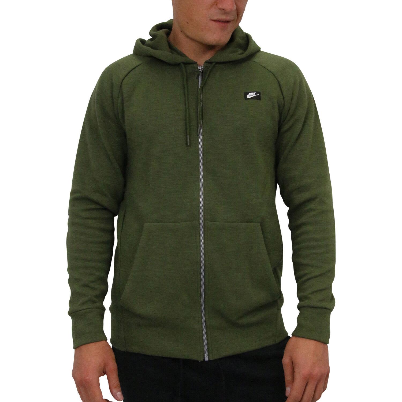 bd29bd96f3c85e NIKE Sportswear Optic HOODIE HOODIE HOODIE ABBIGLIAMENTO UOMO verde OLIVA  928475 395 9de250