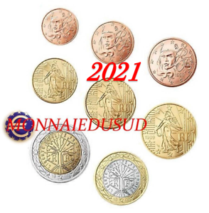 Serie-1-Cent-a-2-Euro-France-2021-Serie-UNC
