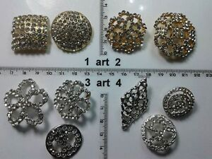 1-lotto-bottoni-gioiello-smalti-strass-pietre-vetro-buttons-boutons-vintage-g20