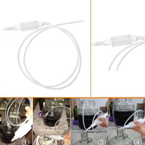 2 Meter Syphon Tube Hand Fuel Pump Gasoline Siphon Hose Gas Oil Water Fuel  P1Y1