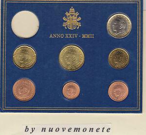 MONETE-VATICANO-VATICAN-CENT-E-EURO-ANNO-2002-UNC-SCEGLI-QUELLE-CHE-TI-SERVONO