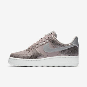 Details about NIKE WOMEN'S AIR FORCE 1 '07 PRM SHOES particle rose pewter 616725 602
