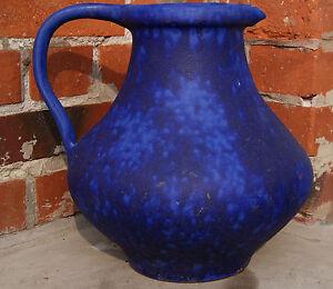 Hoy Heyne Keramik Design Floor Vase No.47 WGP 60s Modernist German Artpottery