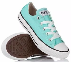 ef88c07f227d Converse Chuck Taylor All Star Women s Aruba Blue Canvas Ox 130118F ...
