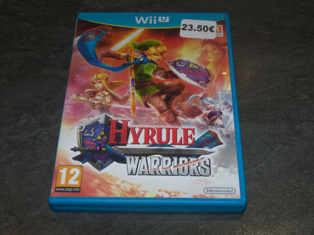 Videojuego Nintendo Wii U Completo Tbe Vf Hyrule Guerreros Ebay