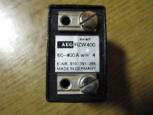 (312) AEG Stromwandler RZW400, 60-400A, 10A/2mV - Deutschland - (312) AEG Stromwandler RZW400, 60-400A, 10A/2mV - Deutschland