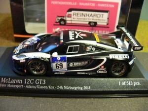1/43 minichamps mclaren 12c gt3 doerr motorsport 24h nÜrburgring