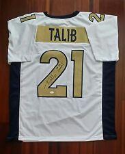 Aqib Talib Autographed Signed Jersey Denver Broncos W/Super Bowl Inscript JSA
