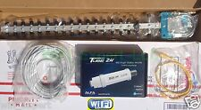 WiFi YAGI Antenna ALFA PoE TUBE 2H Outdoor Booster 100' CABLE GET FREE INTERNET