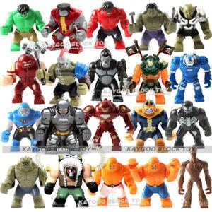 2019 New Lego COSTUM Infinity War THANOS Minifigure Mini Fig Avengers Marvel