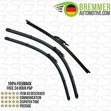 BMW 1 Series Coupe E82 (2007 to 2014) Wiper Blade Complete Set X3 Front Rear