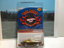 Hot Wheels 22nd Annual Collectors Convention Gold Custom Otto 1/2000 No Sticker