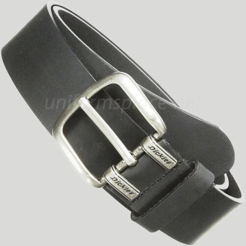 "1.5/"" Screw Logo Leather Belt Black or Brown Dickies Leather Belt Mens Approx"